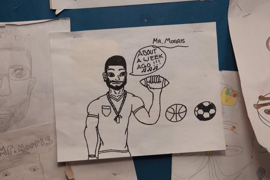 black teacher poster