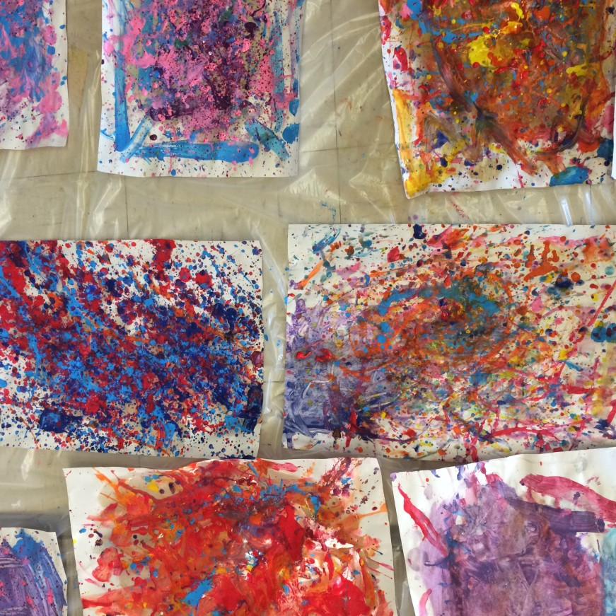 Jackson Pollock x Morris